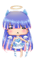 Anarchy Stocking Pixel by Ettesore