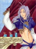 Kuja on the Balcony by yapi