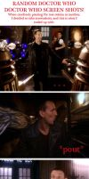 Doctor Who Pausing Madness by foreverstrange