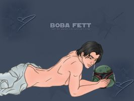 Boba Fett Wallpaper. by amiry