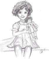 Shirley Temple by MystyKismet