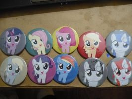 Filly Pins by sparklepeep
