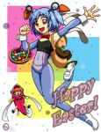 Magical Play Easter Card by BlackHarpyGoddess