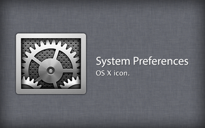 System Preferences OS X Icon by osullivanluke