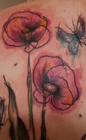 abstract girly flowers by fukkkingname