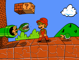 supermariobrosone2 by p3hrmne