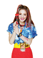 SNSD Hyoyeon Kiss Me Baby-G Casio ~PNG~ by JaslynKpopPngs