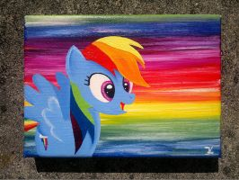Collage Rainbow Dash by flutterlinchen