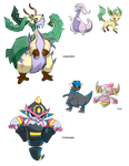 PokeFusions o.o by raydarkwolf