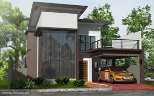 Modern Two Storey Residence at Antique by arimankodi