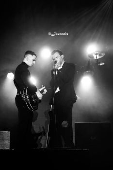Hurts @Summer Well 2012 3 by sameoddstory