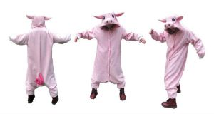 Pig kigurumi by diemortalroom