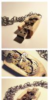 Steampunk USB 16GB by graphiqual