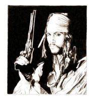 Captain Jack Sparrow by Deinslef