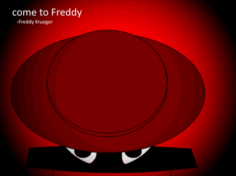 come to Freddy by garybnumb8