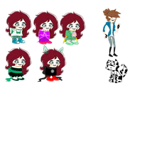 More Sprite Edits - Fan kid Molly by PonyPocky317