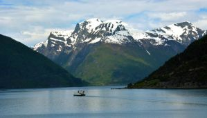 Sailing the fjords to Skjolden 24 by abelamario