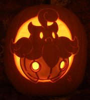 Pumpkaboo Pumpkin in the Light by johwee