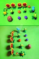 Plants vs Zombies Lawn by mAd-ArIsToCrAt