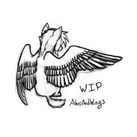 WIP Wings :: July 22 by AshesAndWings