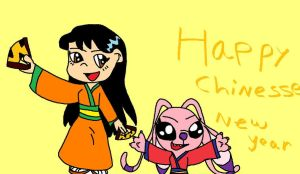 Lilo and Angel Happy Chinesse by STITCH62633