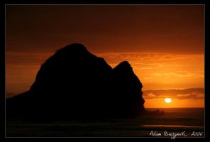 Piha Sunset - 7 by Ildefonse