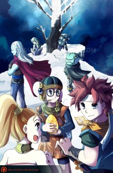 Chrono Trigger - Death Peak by suzuran