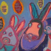 An Easter's Rabbits by MARLY272000