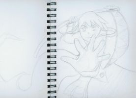 silly sketchbook 1 - Maka Alban by MistyWoods101