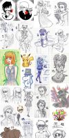 doodle dump.8 by MikiMonster