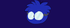 Gary as a puffle by RainbowPuffleAshley