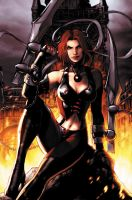 Bloodrayne cover by JPRart