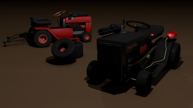 The way lawnmowers should be by RikuTavallinen