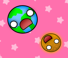 Earth and Sun by suzzie456