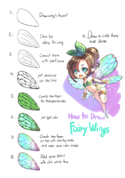 How to Draw Fairy's Wings by hmongt