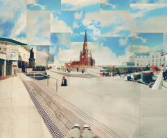 Photomontage: Bullring by crystalsmile