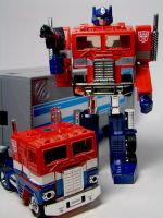 TF Encore Optimus Prime by archaznable30