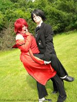 AN12 - Grell Sutcliff and Sebastian by SammehChu