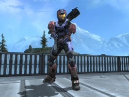 Meme in Halo Reach by KATTALNUVA