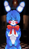 Toy Bonnie | Five nights at Freddys 2 Anime Style by Mairusu-Paua