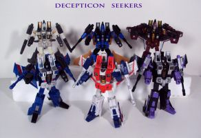 Decepticon Seekers by Unicron9