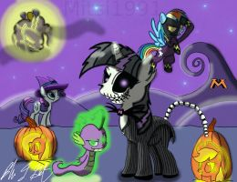 Nightmare In Ponyville by Mitsi1991