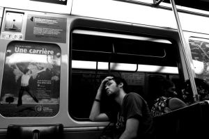 metro boring by Polyesterday