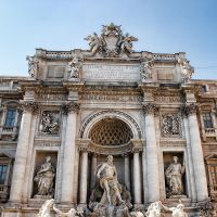 Trevi Fountain by BlueColoursOfNature