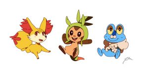 New Starters by bluekomadori
