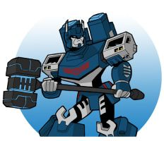 Ultra Magnus by JoelRCarroll