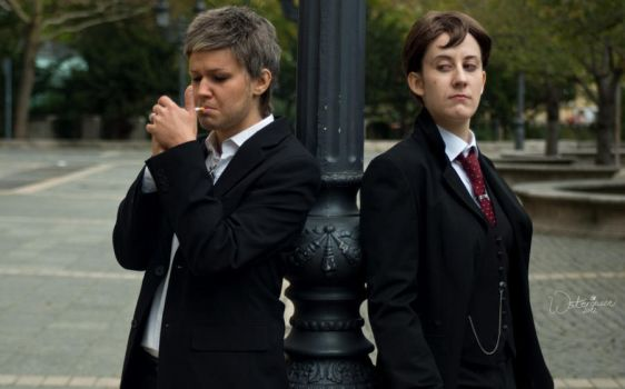 Sherlock [BBC]: The Inspector and the Government by JoanneDelany
