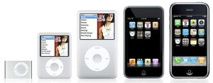 Evolution of the Ipod by GirRockz