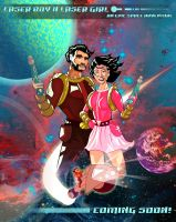 Spaceboy and Girl by Gadieon