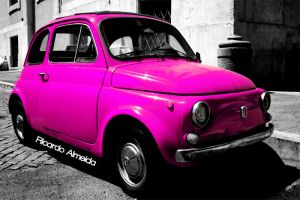 Fiat 500 by deepkitsch